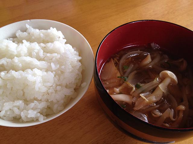 具だくさん中華スープ